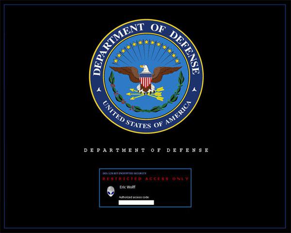compaq logon screen. Login Screen